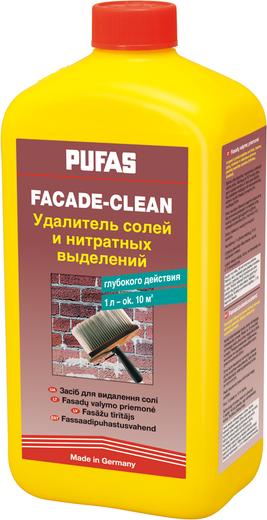 Пуфас Facade-Clean удалитель солей и нитратных выделений глубокого действия (1 л)