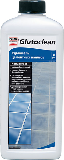 Пуфас Glutoclean Zementschleier Entferner удалитель цементных налетов концентрат (1 л)