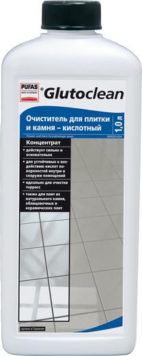 Пуфас Glutoclean Fliesen und Stein Grundreiniger - Sauer очиститель для плитки и камня кислотный концентрат (1 л)