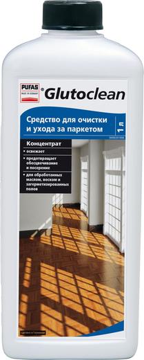 Пуфас Glutoclean Parkett Reiniger средство для очистки и ухода за паркетом концентрат