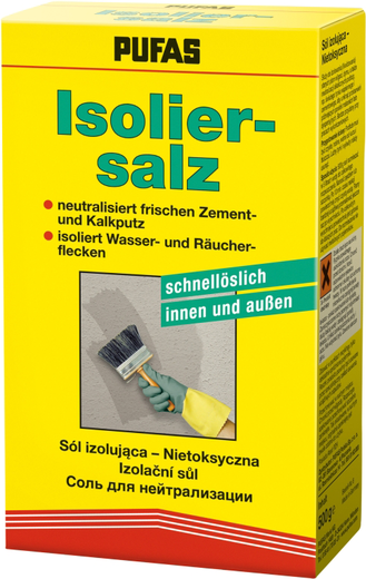 Пуфас Isoliersalz соль для нейтрализации (500 г) бесцветная