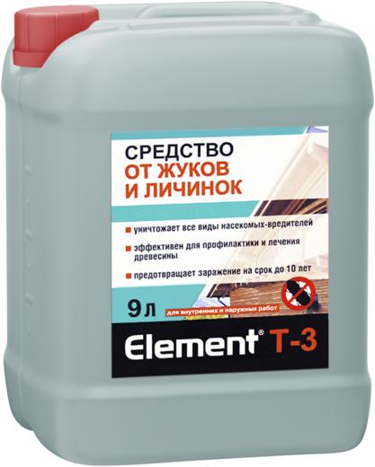 Средство Alpa Element t-3 от жуков и личинок 9 л