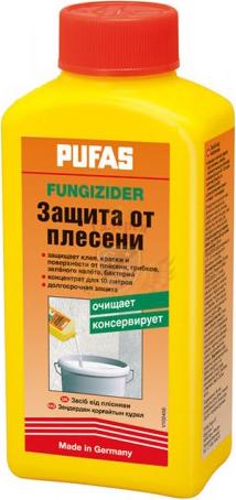 Пуфас Fungizider защита от плесени (1 л) светло-желтая