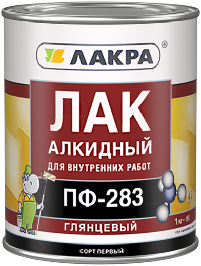 Лакра ПФ-283 лак алкидный