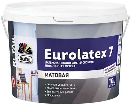 Dufa Retail Eurolatex 7 матовая латексная краска водно-дисперсионная