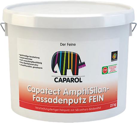Caparol Capatect AmphiSilan-Fassadenputz Fein готовая к применению мелкая штукатурка (25 кг)