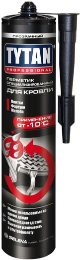 Герметик специализированный для кровли Титан Professional (310 мл) бесцветный