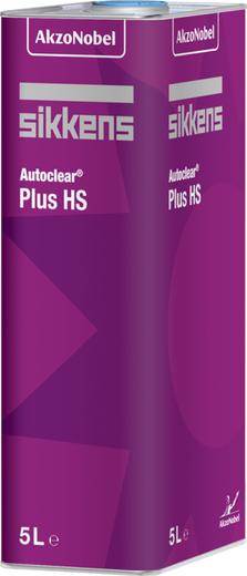 Sikkens Autoclear Plus HS толстослойный лак с отличным розливом и глянцем (5 л) бесцветный