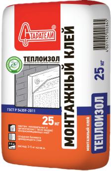 Старатели Теплоизол монтажный клей (25 кг)