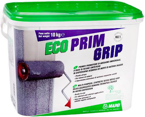 Грунтовка Mapei Eco prim grip акриловая с кварцевым песком 10 кг