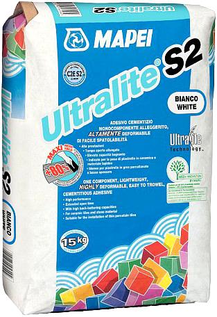 Mapei Ultralite S2 клей для плитки