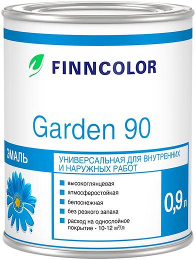 Финнколор Garden 90 эмаль универсальная для внутренних и наружных работ алкидная