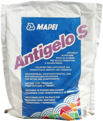 Mapei Antigelo S противоморозная добавка для бетонов и цементных растворов (1 кг)