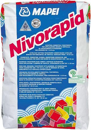 Mapei Nivorapid выравнивающий и ремонтный состав (25 кг)