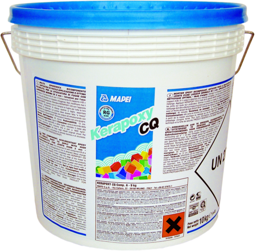 Mapei Kerapoxy CQ двухкомпонентный эпоксидный заполнитель (3 кг) №113 цементно-серый