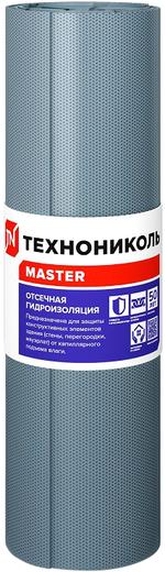 Технониколь Master Отсечная Гидроизоляция рулонный битумно-полимерный гидроизоляционный материал (0.4*20 м 1 кг/м2)