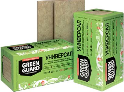 Технониколь GreenGuard Универсал каменная вата