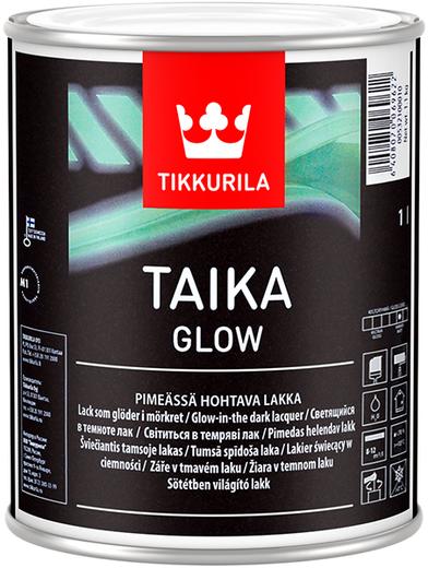 Тиккурила Тайка Глоу светящийся в темноте лак