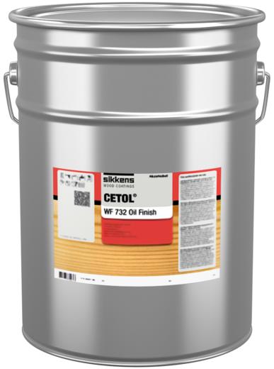Sikkens Wood Coatings Cetol WF 732 Oil Finish водорастворимое прозрачное масло (10 л)