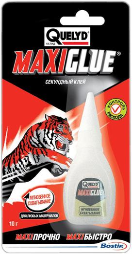 Quelyd MaxiGlue секундный клей