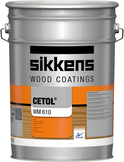 Sikkens Wood Coatings Cetol WM 610 водорастворимое высокопрозрачное промежуточное покрытие (10 л)