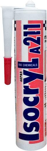 Iso Chemicals Isocryl A211 Акрил акриловый герметик (280 мл) белый