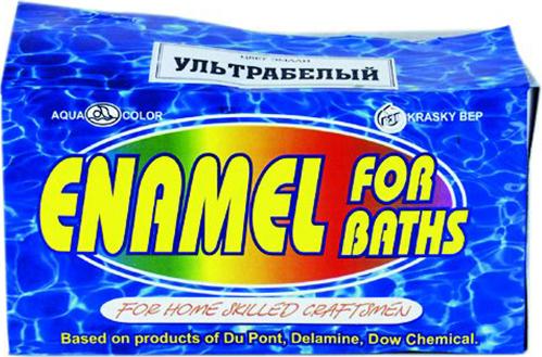 Аква-Колор Enamel for Baths эмаль для ванн (660 г) ультрабелая