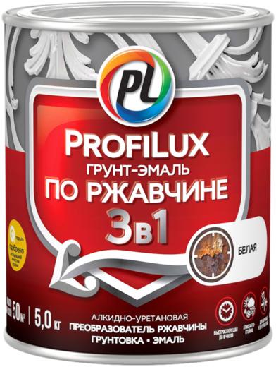 Профилюкс грунт-эмаль по ржавчине 3 в 1 (900 г) белая