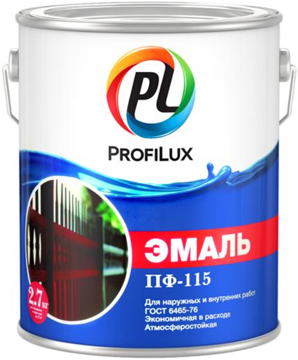 Профилюкс ПФ-115 эмаль алкидная атмосферостойкая (20 кг) белая глянцевая
