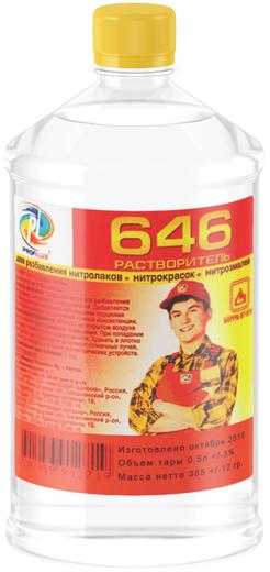 Профилюкс Р-646 растворитель для разбавления нитролаков, нитрокрасок, нитроэмалей