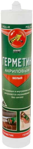 Поли-Р акриловый герметик