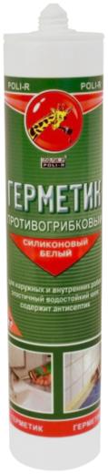 Поли-Р силиконовый противогрибковый герметик (280 мл) бесцветный