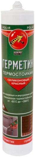 Поли-Р термостойкий силиконовый герметик