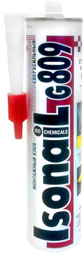 Iso Chemicals Isonail G809 Сверхсильный монтажный клей