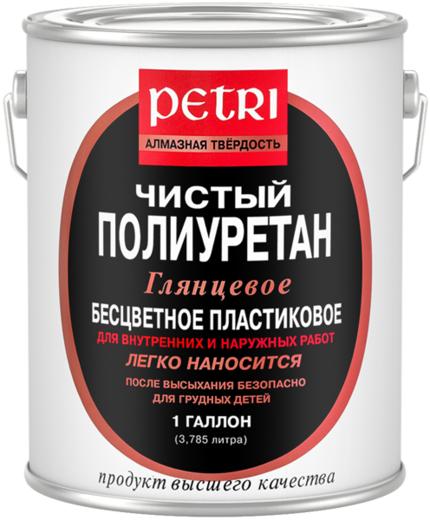 Петри Алмазная Твердость чистый полиуретан лак (1 л) глянцевый