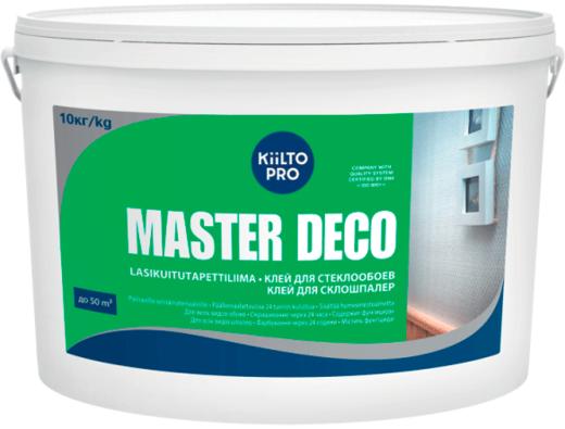 Kiilto Master Deco клей для стеклообоев (10 кг)