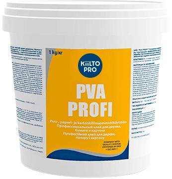 Kiilto ПВА PVA Profi профессиональный клей для дерева, бумаги и картона (3 кг)