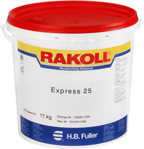 Rakoll ПВА Express 25 D клей для твердолиственных пород древесины (30 кг)