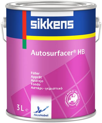 Толстослойный грунт-выравниватель Sikkens Autosurfacer HB (1 л)