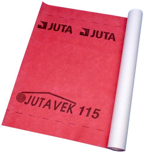 Juta Ютавек 115 подкровельная супердиффузионная мембрана (1.5*50 м) красная