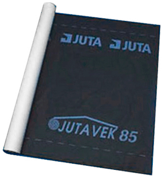 Juta Ютавек 85 ветрозащитная мембрана для стен гидрозащитная (1.5*50 м) черная (Чехия)