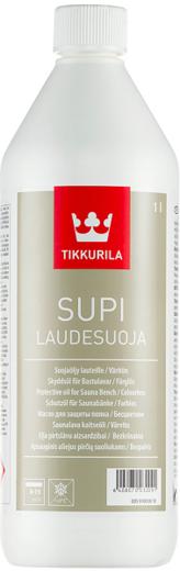 Тиккурила Супи Лаудесуоя природное парафиновое масло для защиты полка в бане бесцветное