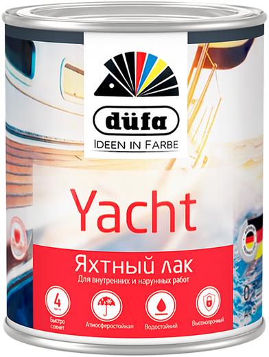 Dufa Retail Yacht лак яхтный (2.5 л) глянцевый