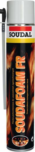 Soudal Soudafoam FR огнестойкая монтажная полиуретановая пена