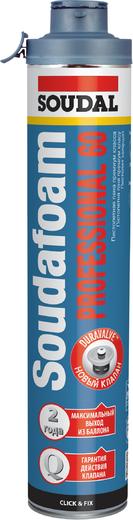 Soudal Soudafoam Professional 60 Click & Fix пистолетная пена премиум класса