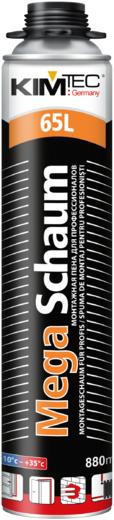 Kim Tec Mega Schaum 65L монтажная пена для профессионалов пистолетная (850 мл) пистолетная