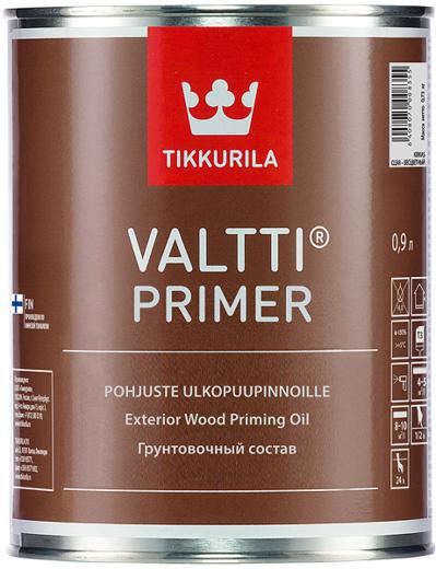 Антисептик Тиккурила Валтти праймер грунтовочный состав для древесины 900 мл