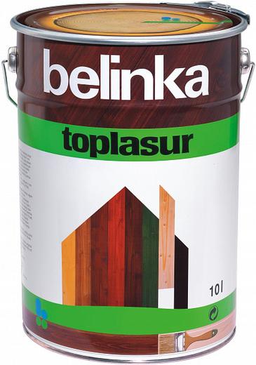 Белинка Toplasur декоративное лазурное покрытие (1 л) зеленое