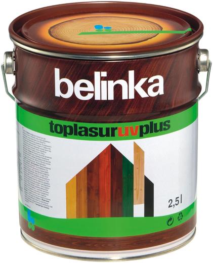 Белинка Toplasur UV Plus бесцветное лазурное покрытие (10 л)