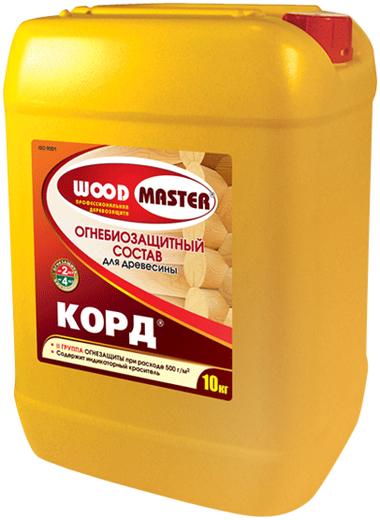 Woodmaster Корд огнебиозащитный состав для древесины